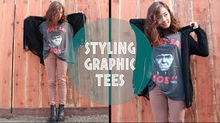 Styling Graphic T-Shirts