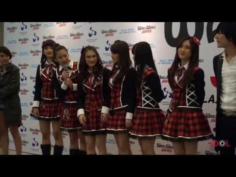 WakuWaku Japan Music Festival Press Conference (JKT48, Afgan, BCL, Flumpool) @ JCC Senayan