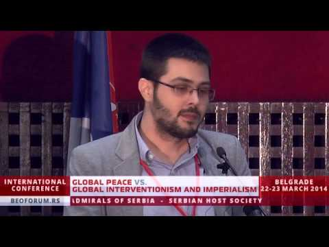 ILIAS BALTAS (GREECE, WFTU) - (Global Peace vs. Global Interventionism and Imperialism)