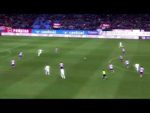 Xabi Alonso & Luka Modric vs Atletico Madrid [HD] 11/02/2014