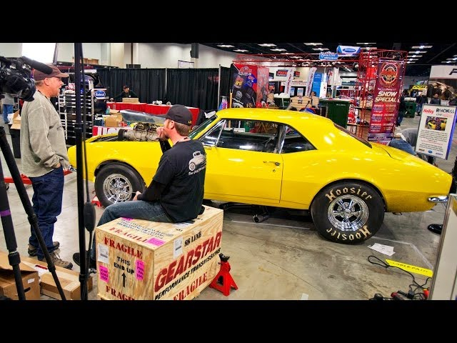 RoadKill Live! Day 1 - Crusher Camaro Engine Swap at PRI