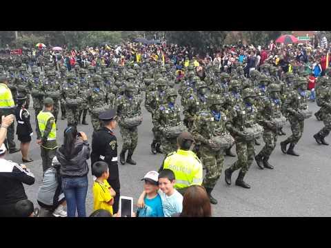 Desfile 20 de Julio 2014 - Bogotá D.C. - Ejercito de Colombia