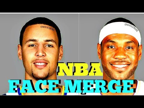 CAN YOU GUESS THESE MERGED NBA FACES? | NBA FACE MERGE CHALLENGE