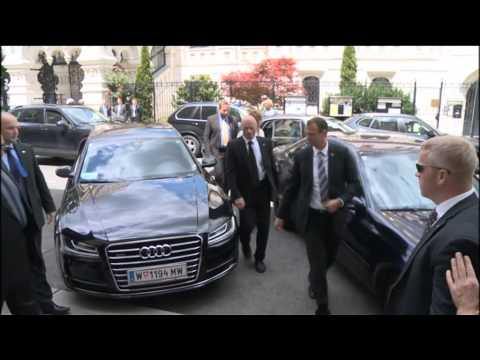 EU HR Ashton at the E3+3 negotiations with Iran: Meeting with Foreign Minister Zarif