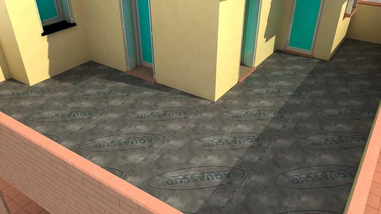 impermeabilizzazione terrazzi con piastrelle