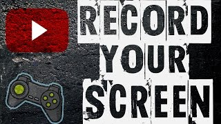 How To Record Your Computer Screen For Games [NO LAG