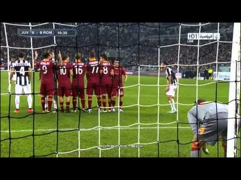 ★ Andrea Pirlo ★ The best free kick at Juventus