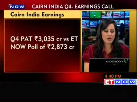 Cairn India reports inline Q4 PAT at Rs 3035 crore