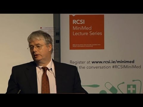 RCSI MiniMed Open Lecture Series 2013/2014 - 'Periodontal (gum) disease and general health'.