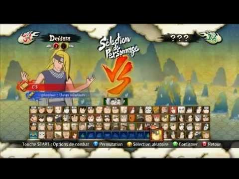 Naruto Ultimate Ninja Storm 3 Full Burst Mod : Roster and Eye Texture Mods