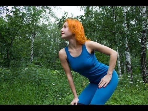 Зарядка с Катериной Буйда   Разминка перед тренировкой. Бег трусцой   Тренировка №10 (2)