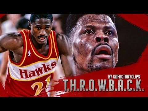 Throwback: Patrick Ewing vs Dominique Wilkins 52 Full Duel Highlights 1991.12.07 Knicks at Hawks
