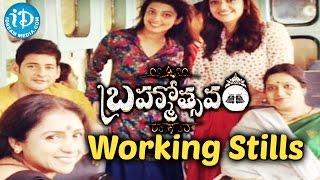 Brahmotsavam Working Stills : Mahesh Babu, Kajal Aggarwal, Samantha, Pranitha