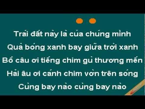 Trái Đất Này Của Chúng Em Karaoke - CaoCuongPro