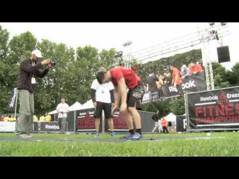 Athlètes Reebok CrossFit Brussels au RCFFC France 2012
