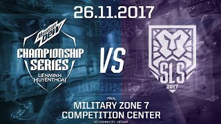 [26.11.2017] Vietnam vs Singapore [Final][AllStar 2017][Game 1]