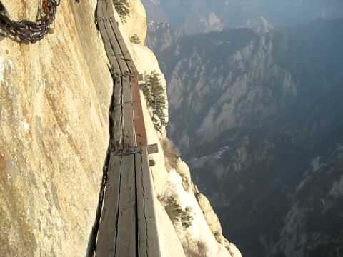 Le China's Cliffside Plank Path : le chemin le plus dangereux du monde