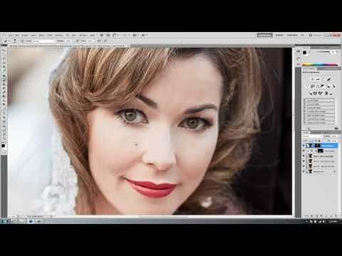 Professional Photoshop Portrait Retouching - Part VI - How to Smooth and Soften Skin