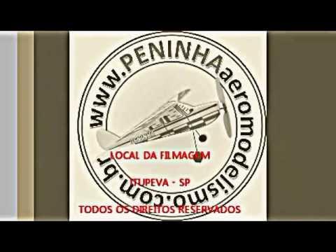 Aeromodelo Peninha voo livre!!! Avião de \isopor!!!
