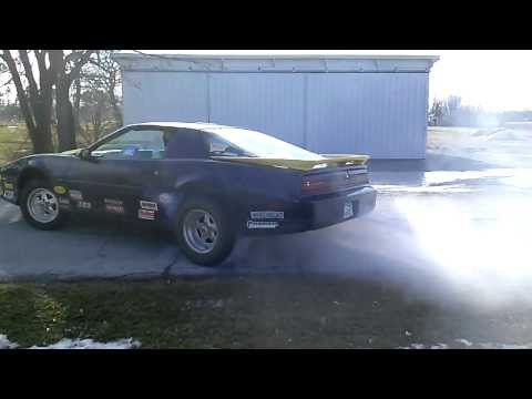 1987 Pontiac Trans Am GTA Burnout