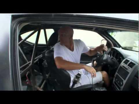 Dodge Vin Diesel Stunts Chargers