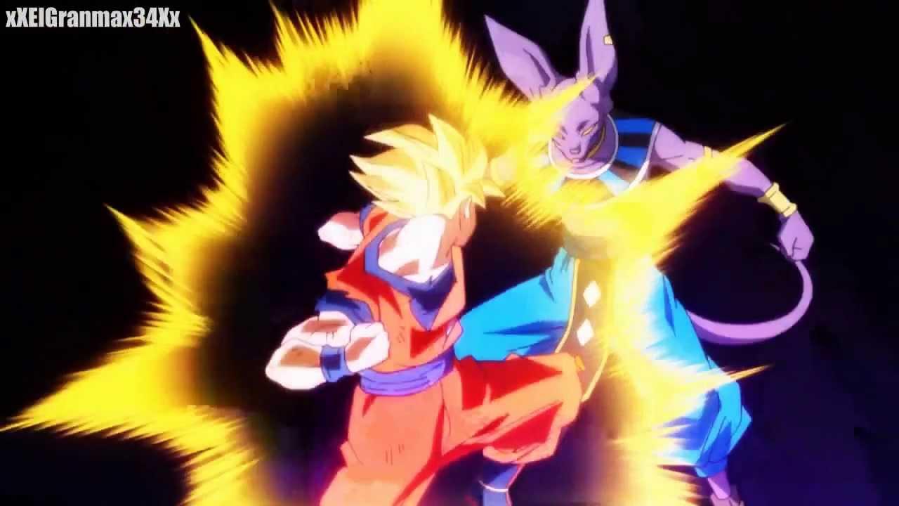Dragon Ball Z Goku vs Bill