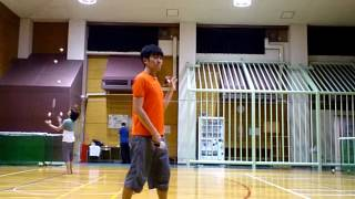 Split Shoulder Reel Pirouette
