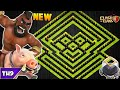 NEW TOWN HALL 9 FARMING TROPHY BASE 2017 TH9 HYBRID FARM BASE WITH REPLAYS CLASH OF CLANS COC