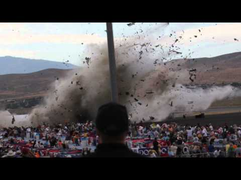 Reason at 0:55 Nevada air racing crash 2011.