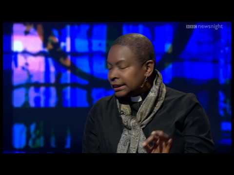 NEWSNIGHT: Reverend Rose Hudson-Wilkin and Susie Leafe discuss women bishops in the C of E