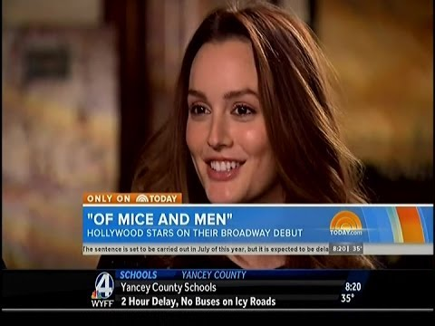 Leighton Meester, James Franco & Chris O' Dowd on The Today Show