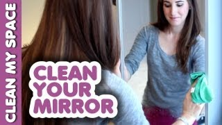 Mirror Cleaning Secret! How To Clean A Mirror Tutorial