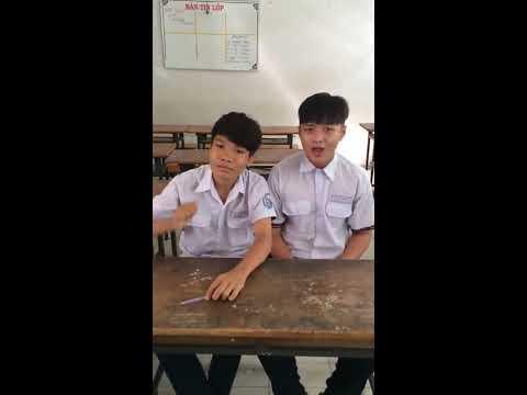 phát sốt - 2 học sinh gõ Bo và hát nhạc chế làm chao đảo cộng đồng mạng