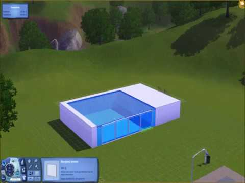 The sims 3 how to build a cool pool youtube for Pool design sims 3