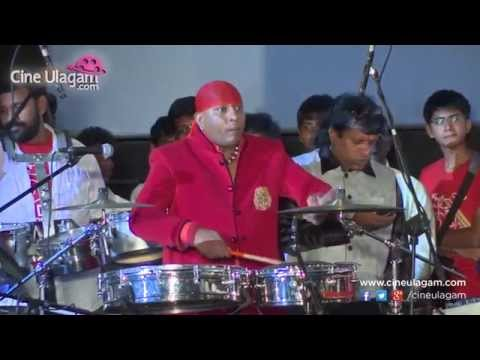 Sivamani, Shankar Mahadevan And Stephen Devassy Performace At Arimanambi Audio Launch
