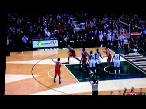 Mike Dunleavy Game Winner vs Bucks!!