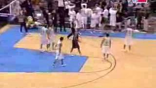 Allen Iverson VS Dirk Nowitzki For The Game Winner