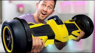 F1 Racing Hoverboard?! | DOPE or NOPE