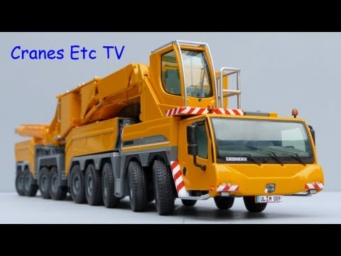 Cranes Etc TV: NZG Liebherr LTM 11200-9.1 Review Part 1