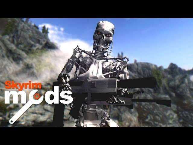 Top 5 Skyrim Mods of the Week - Terminators in Skyrim!