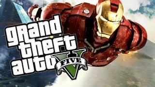 GTA V: Ironman/Superman Glitch (unlimited Freefall)