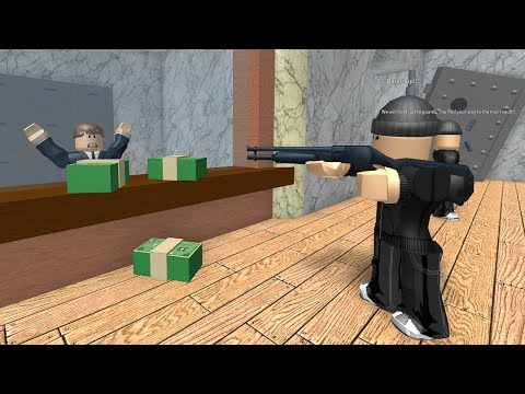 [EL] RAPINA IN BANCA | Roblox - Rob A Bank (ITA)