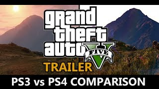 GTA 5 PS3 Vs PS4 Trailer Comparison