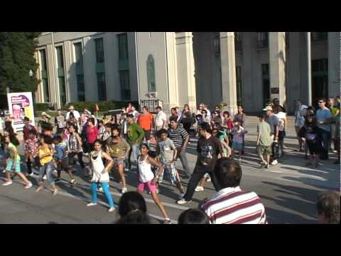 Flash Mob 3 at CNE Toronto 2011 by Shiamak Students