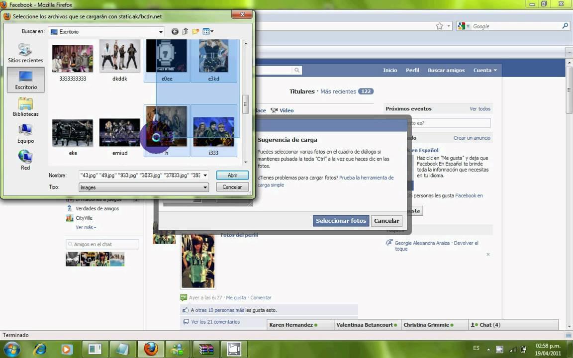 Como hacer un album de fotos en facebook i youtube - Como hacer un album de fotos ...