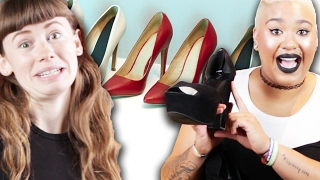 Women Who Hate Heels Wear Them For A Day