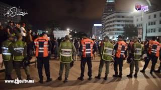 النشيد الوطني و الأعلام المغربية ترفرف في سماء مدينة الدار البيضاء في وقفة ضد الزفزافي و من معه (فيديو) |