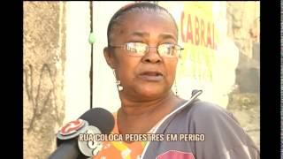 Idoso morreu em rua estreita e �ngreme no bairro Serra