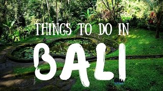 Things To Do In Bali Indonesia Top Attractions Travel