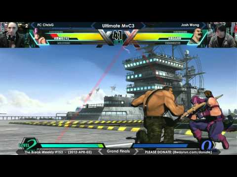 The Break #153 - UMvC3 GF - FC ChrisG VS Josh Wong